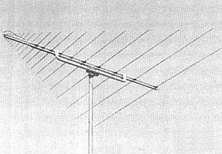 Comet Antenna Log Periodic
