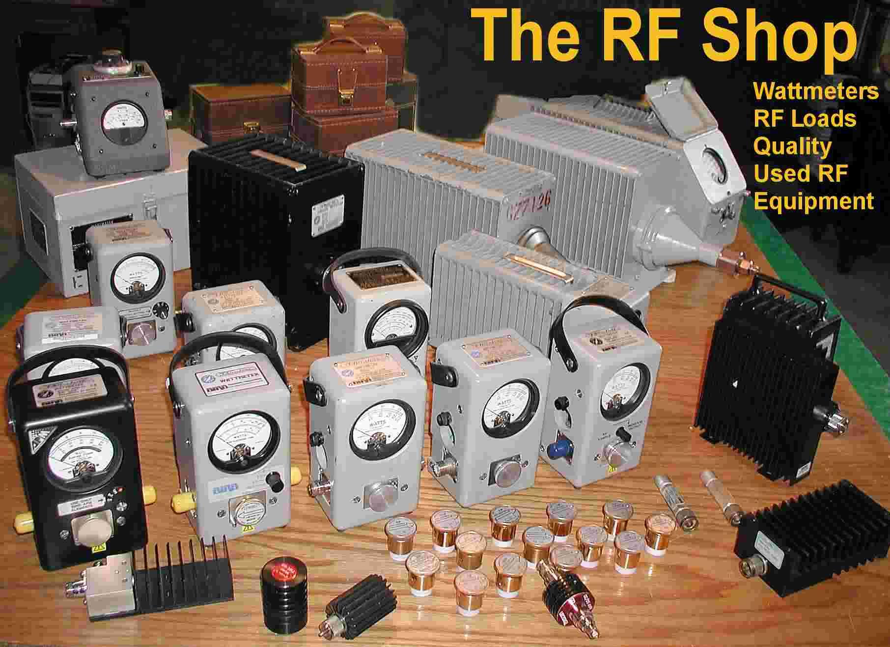 The RF Shop Wattmeter Display