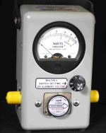 Bird 4410A Multipower Broadband Wattmeter (Used)NEW  2-30 MHz, 10-10,000 Watts Element Included Single Element 7 Power Ranges - Product Image