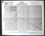 VSWR Laminated Nomograph - Product Image