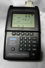 Bird 5000-EX Digital Power Meter (Used) - Product Image