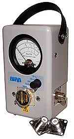 Bird Model 4304A Multi-Range Wattmeter (NEW)Broadband - No Elements Required (New)25-1000 MHz 5-500 Watts - Product Image